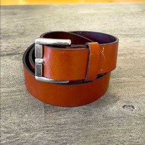 CK brown men's belt made in Italy size 85cm/34in